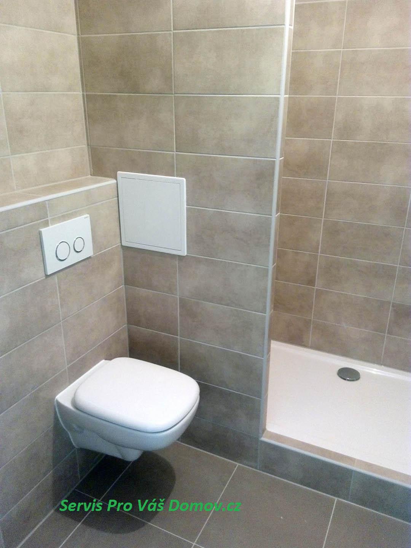 Koupelna panelový dům
